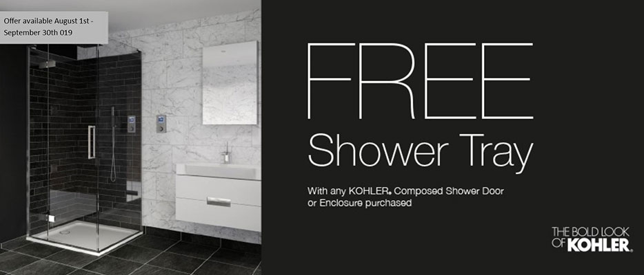 Free Shower Tray Offer